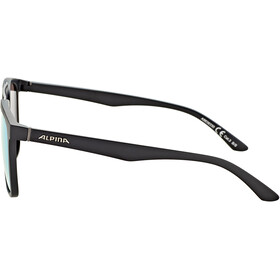 Alpina Caruma I Brille black matt/blue mirror